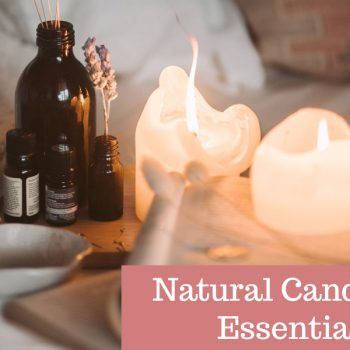 Easiest Way To Make Natural Candles With Essential Oils